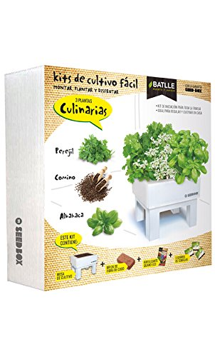 Huerto Urbano - Seed Box Culinarias - Batlle Semillas Batlle 160117UNID