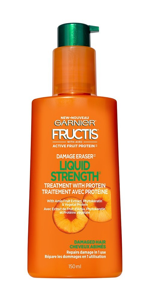 Garnier Fructis Damage Eraser Liquid Strength Treatment With Amla Fruit Extract For Distressed, Damaged Hair 150 Ml