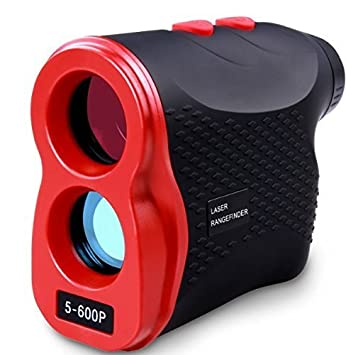 AIKOTOO Golf Rangefinder, Range Finder 600 Yards with Distance for Horizontal Distance Height Speed Measurement, Golf Rangefinder