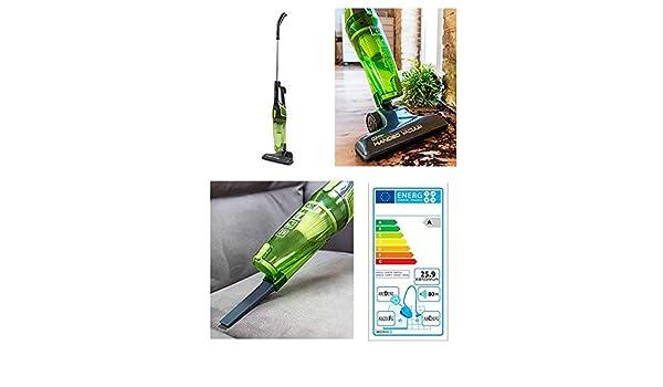 Conga Duo Stick Easy – Escoba eléctrica aspirador ciclónico sin ...