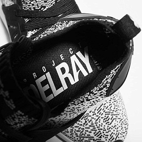 Project Delray Wavey Black/White