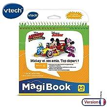VTech MagiBook Mickey et SES Amis, Top Depart Niño/niña - Juegos educativos (Top Depart, 194 mm, 107 mm, 205 mm, 397,7 g)