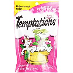 Whiskas Temptations Blissful Catnip Treats, 3 oz (Pack of 1)