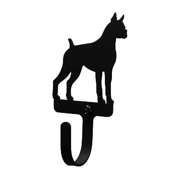 Amazon.com: Hierro Boxer perro decorativo gancho de pared ...