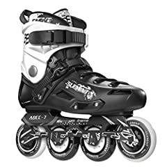 Made to be quick and maneuverable with the 5th Element ST-80 Urban Inline Skates. You will be able to snake through obstacles on the streets and through the park. The 80mm wheels with an 84A durometer add to the perfection of these skates in ...