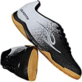 Chuteira Dalponte Flash Futsal Preta e Branca 88db25e919f33