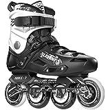 5th Element ST-80 Urban Inline Skates, Black and White Rollerblades