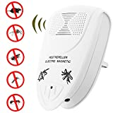 [UPGRADED] Ultrasonic Pest Repeller - BEST Pest Control -Pack with DOUBLE IMPACT - Plug-In Electronic Home Repellent Anti Mice, Ant, Roach, Mosquito, Outdoor/Indoor (1-Pack, White2)