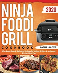 The Ninja Foodi Grill Cookbook #2020 is more than a cookbook.                                                   From this cookbook you will learn:                                       Understanding the Ninja Foodi ...