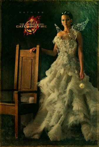 Catching Fire Hunger Games 27x40 D/S Capitol Portrait Poster - Katniss Wedding Gown]()