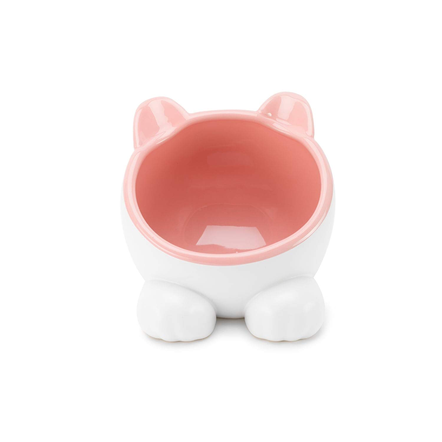 ViviPet Q Bowls and Big Head Water Bowl for Cat and Dog Under 20 Pound (Pink, Big Head Water Bowl) by ViviPet
