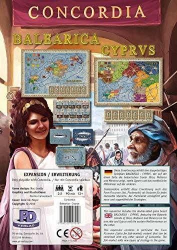Rio Grande Games Concordia: Balearica/Cyprus: Amazon.es: Juguetes y juegos