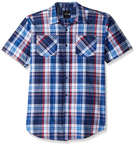 akademiks-mens-big-and-tall-plaid-button-front-shirt-midnight-4xl
