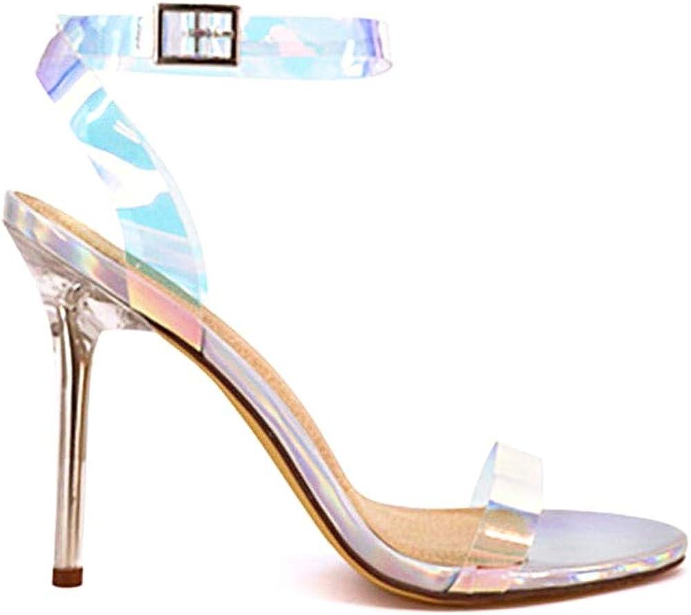 SHUSHOP Womens High Heel Sandals FABY-84