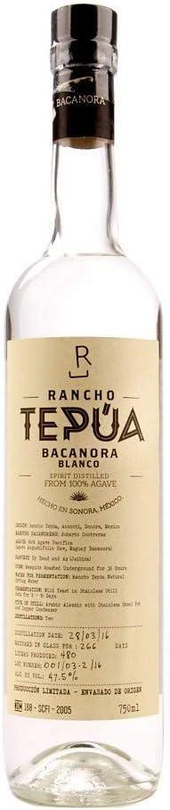 Bacanora Rancho Tepúa Mezcal (Tequila)