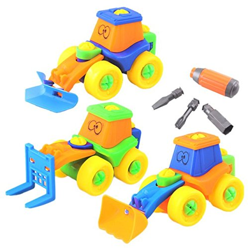 set de coche de juguete juguetes de desmontaje de la asamblea para nios de aos