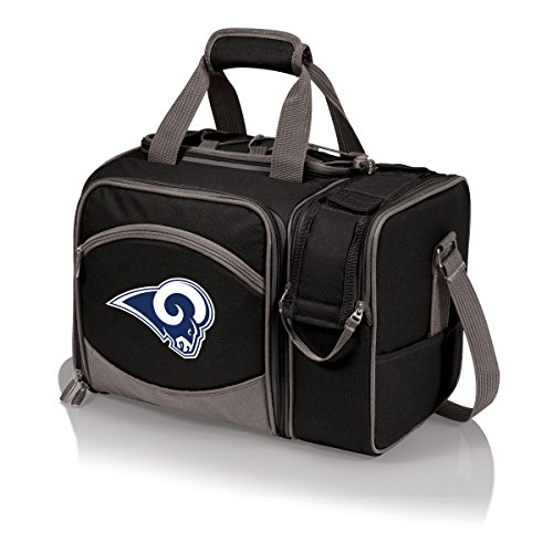 NFL LA Rams Malibu Digital Print Bag, One Size, - Beach Time Picnic Bag Deluxe