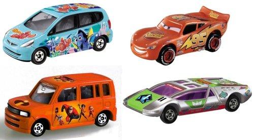 ディズニー・ピクサーセット(4台セット) 「ディズニー・ピクサー トミカコレクション」