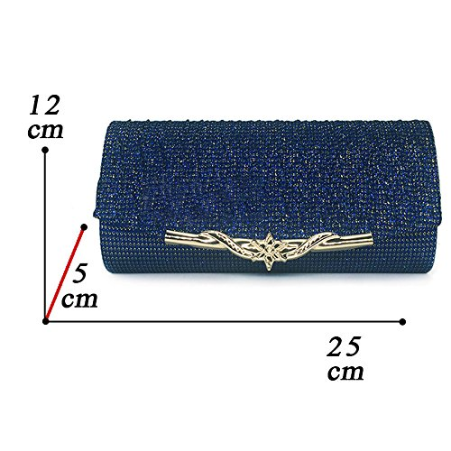 Metallic Bag Ladies Evening Bag Clutch Messenger American European Explosions champagne XIAOLONGY And Satin Bag Bag Fashion 4w0107