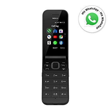 Nokia 2720 Flip Black Dual Sim