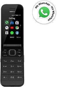 Nokia 2720 Flip Black Dual Sim [Versión importada: Podría