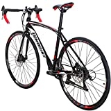 Eurobike Bikes EURXC550 21 Speed Road Bike 700C Wheels Road Bicycle...