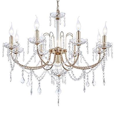 Crystal Chandelier 6 Lights 8 Lights 9 Lights 12 Lights