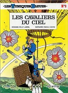 """Afficher """"Les Tuniques bleues n° 8 Les Cavaliers du ciel"""""""
