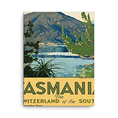 vintage-poster-tasmania-canvas-18x24