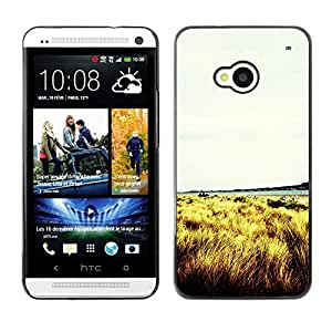 Hot Style Cell Phone PC Hard Case Cover // M00102878 photos grass // HTC One M7