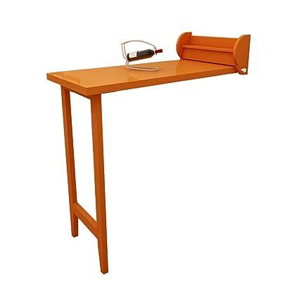 Amazoncom Lxla Wall Mounted Folding Table Wall Drop Leaf Desk