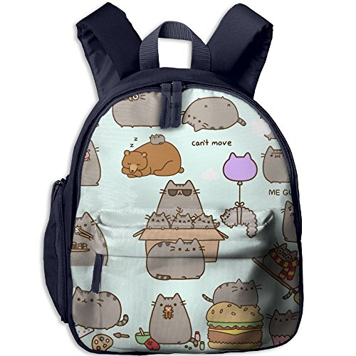 Baby Toddler Child Kid Pusheen Daily Life Preschool Schoolbag Shoulder Bags (Daily Planet Happy Halloween)