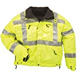 5.11 Tactical #48037 High-Visibility Reversible Jacket (Reflective Yellow, X-Large)