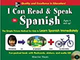 img - for I Can Read and Speak in Spanish (Book + Audio CD) by Maurice Hazan (2005-08-18) book / textbook / text book