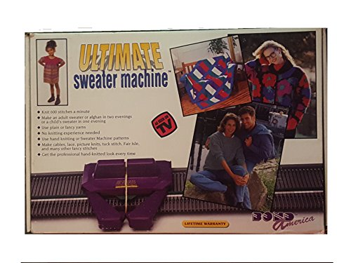 Bond America Incredible Sweater Machine Knitting Machine