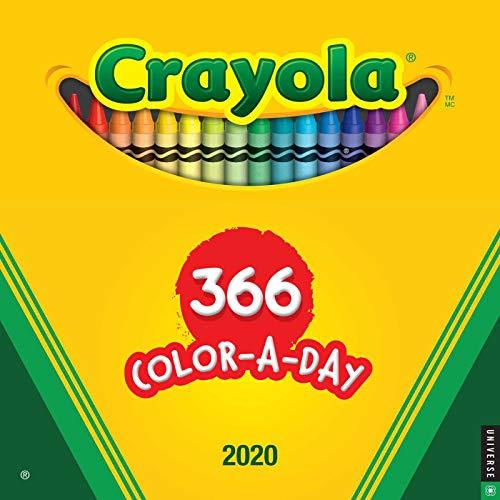 Crayola 2020 Wall Calendar: 366 Crayon