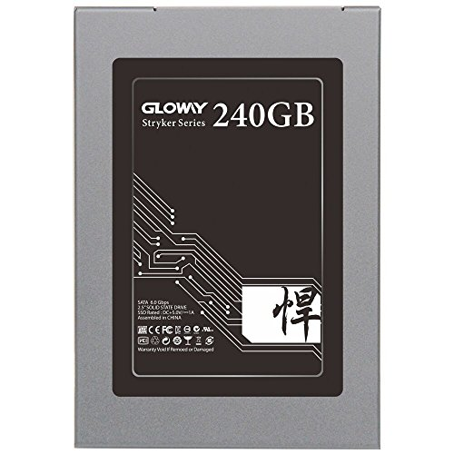 Gloway 240GB SSD Drive SATA III Internal Solid State Drive 3 Years Warranty MLC with Cache by Gloway