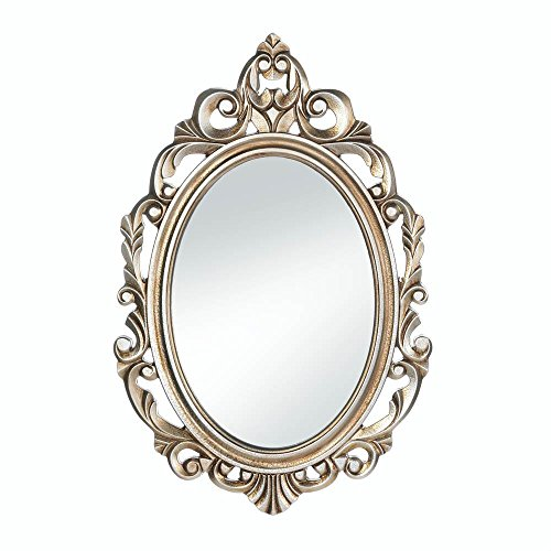 Gold Royal Crown Wall Mirror (Oval Vintage Mirror)