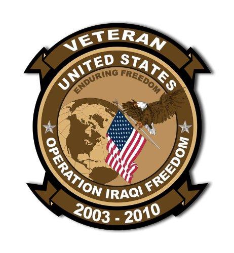 Operation Iraqi Freedom Decal Sticker 3.8