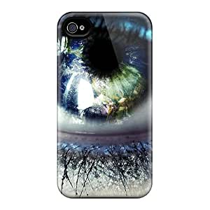 Hot New Blue Eye Cases Covers For Iphone 6 With Perfect Design