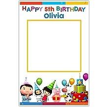 Little Baby Bum Birthday Selfie Frame Poster