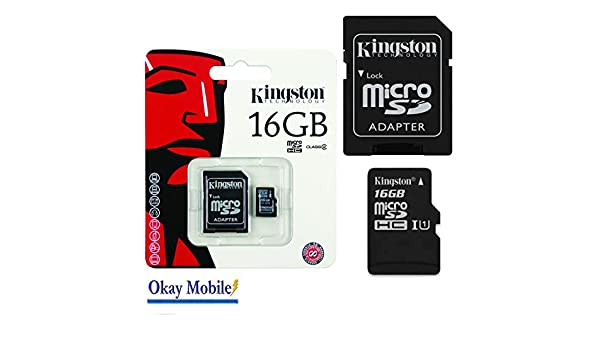 Kingston Tarjeta de memoria micro SD, 16 GB, para Huawei P9 ...