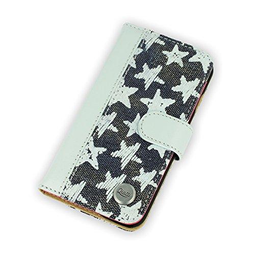 QIOTTI captures Blue Star Coque de protection pour Apple iPhone 6 Plus