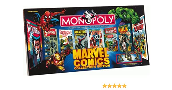 Monopoly Marvel Comics Collectors Edition by Monopoly: Amazon.es: Juguetes y juegos
