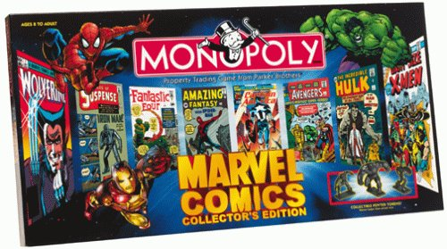 Monopoly Marvel Comics Collector's Edition ()