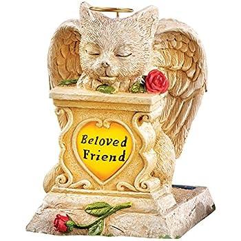 Solar Pet Memorial Garden Figurine, Cat