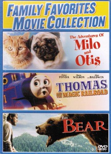 Family Favorites Movie Collection - The Adventures of Milo and Otis, Thomas and the Magic Railroad, & The Bear