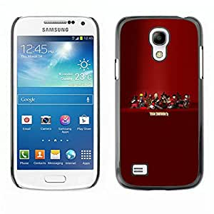 // PHONE CASE GIFT // Duro Estuche protector PC Cáscara Plástico Carcasa Funda Hard Protective Case for Samsung Galaxy S4 Mini i9190 / Tf 2 - Team F0Rtress Game /