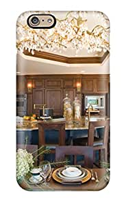New Iphone 6 Case Cover Casing(gourmet Kitchen With 12 Foot Island And Mirrored Tray Ceiling)