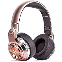 Monster Elements Wireless Over-Ear Headphones with Digital USB Audio, Rose Gold